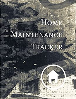 amazon com home maintenance tracker 9781521168349 journals for