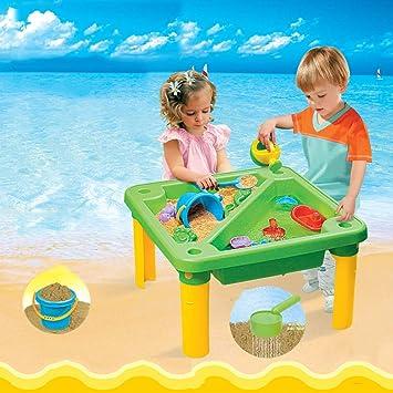 Juguete para NiñOs Arena Juego De Mesa De Agua, Mesa De Playa Multijugador Verano Juego Agua NiñOs Parque De Diversiones Juguetes Playa Juego Vacaciones Viajes: Amazon.es: Deportes y aire libre