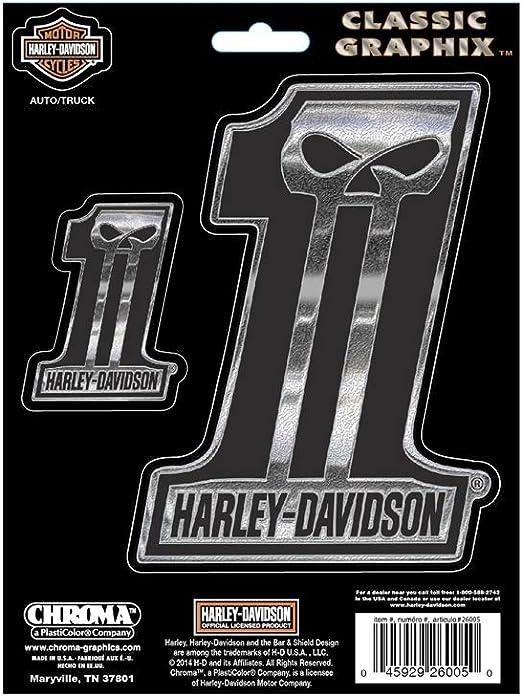 Harley Davidson Aufkleber Classic Emblem 1 Küche Haushalt