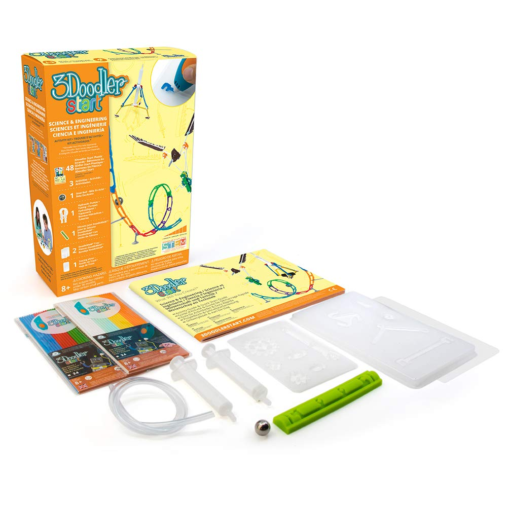 3Doodler Start Science & Engineering Activity Kit (3D Pen Not Included)