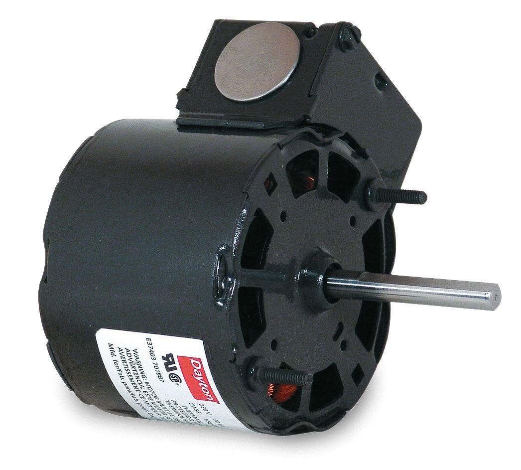 Dayton 3M777 HVAC Motor, 1/30 hp, 3000 RPM, 115V