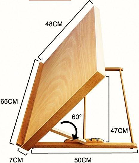 Nuevo portátil plegable mesa escritorio caballete ajustar ángulo ...