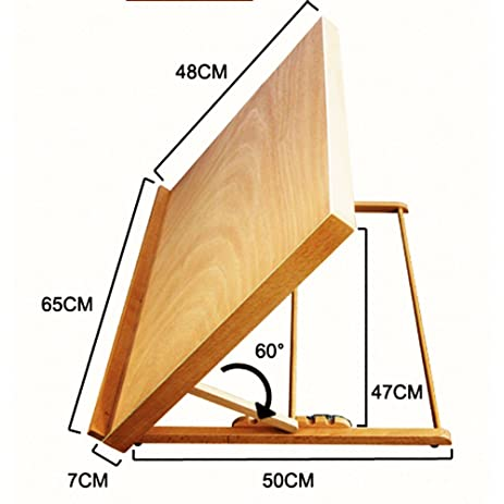 Genial New Portable Fold Table Top Desk Easel Adjust Angle Sketch Box Drawing Board  Drawer