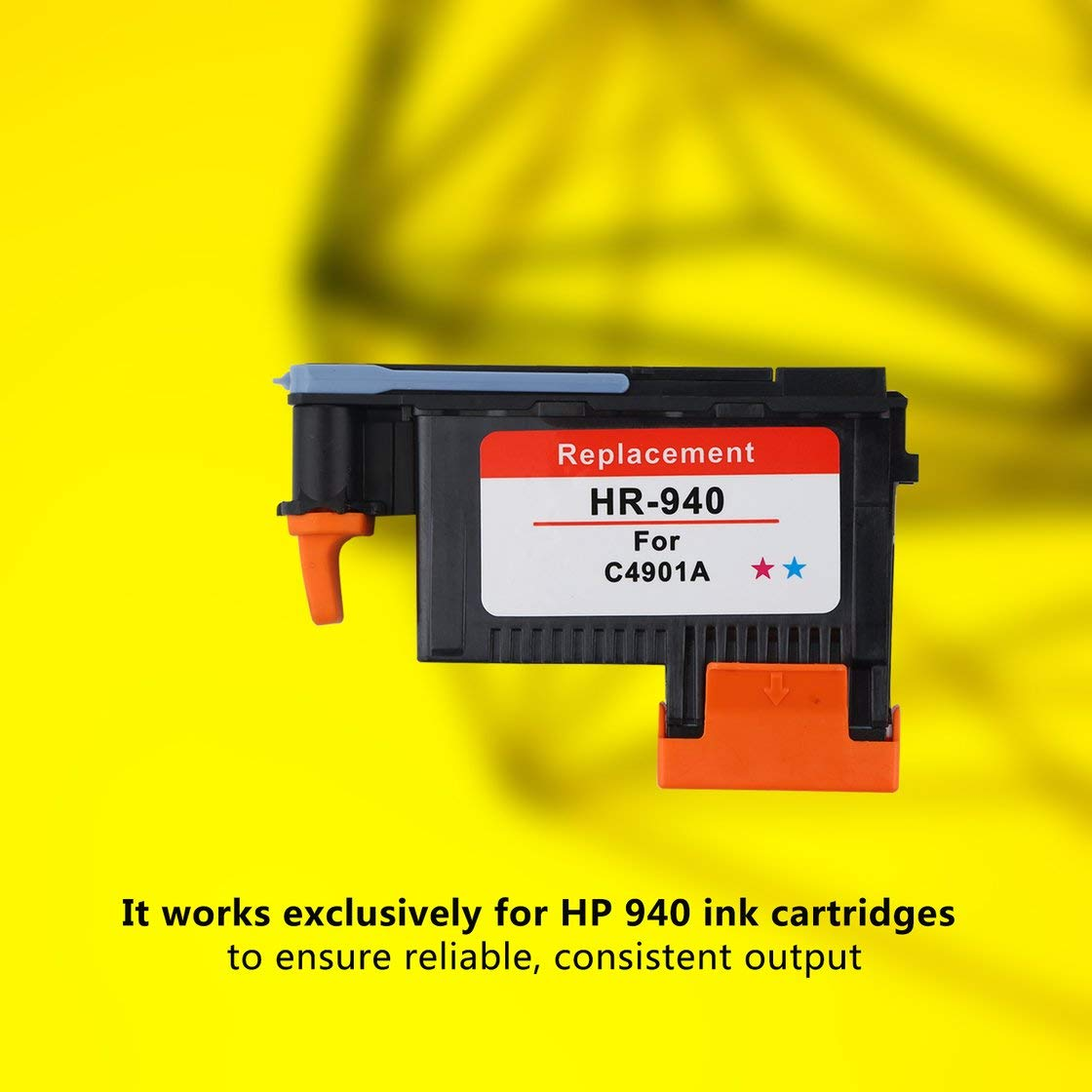 Jessicadaphne Testina di Stampa per HP 940 Compatibile per HP Officejet PRO 8000 8500 A909A A909N A909G 8500A A910A A910G A910N Non OEM