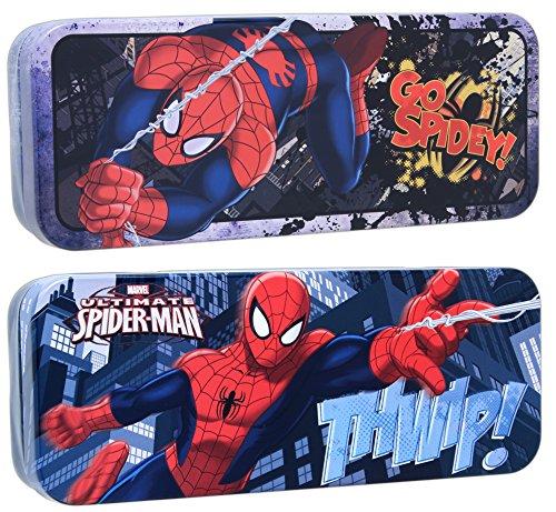Bundle of 2 Tin Box Co Spider-man 8
