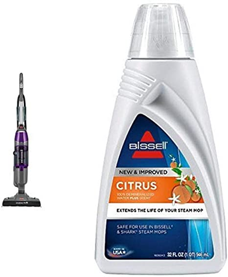 Bissell Symphony Pet All In One Vacuum And Steam Mop 1543a Bissell Citrus Scented Demineralized Water 1393 32 Oz Home Kitchen