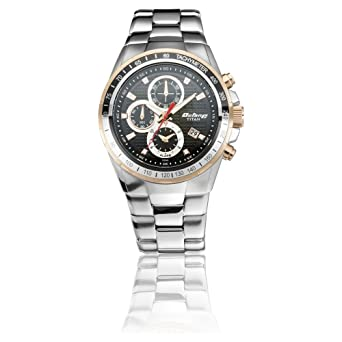 1b870a9d1a Buy Titan Octane Chronograph Black Dial Men's Watch-90085KM02 Online at Low  Prices in India - Amazon.in