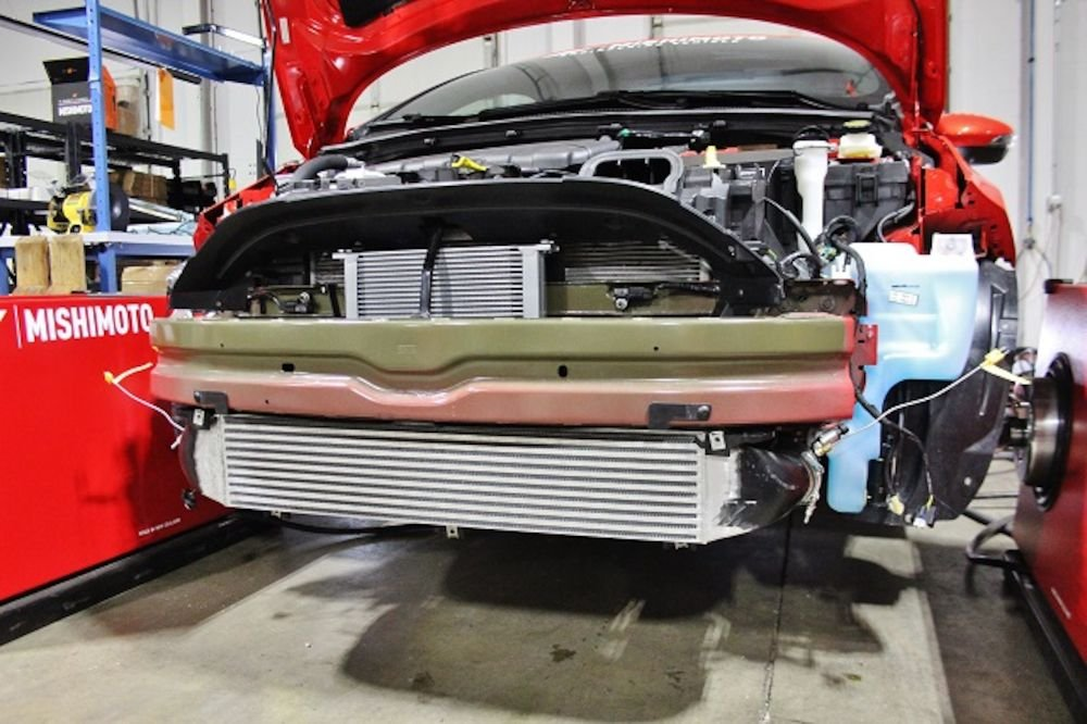 Amazon.com: Mishimoto Ford Fiesta ST Performance Intercooler, 2014+, Gold: Automotive