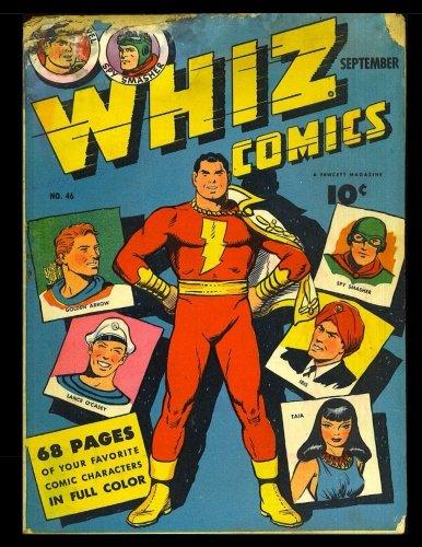 Whiz Comics #46: Golden Age Superhero Comic 1943