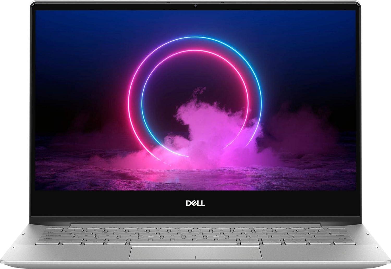 Dell Inspiron 13.3 7000 2-in-1 Touchscreen Laptop, i5-10210U, RGB Backlit Keyboard, Fingerprint Reader, Webcam, Thunderbolt 3, Silver, Windows 10 (8GB RAM|512GB PCIe SSD+32GB Optane)