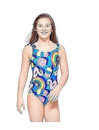 71f9299b00 Amazon.com: Justice Swimwear Pool Floatie One Piece (20): Clothing