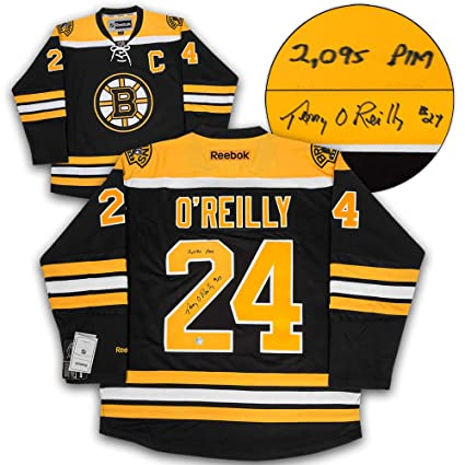 Image Unavailable. Image not available for. Color  Terry O Reilly Boston  Bruins Autographed Reebok Premier Jersey ... e524fe4f2