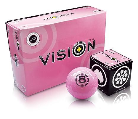 Pelota de golf visión