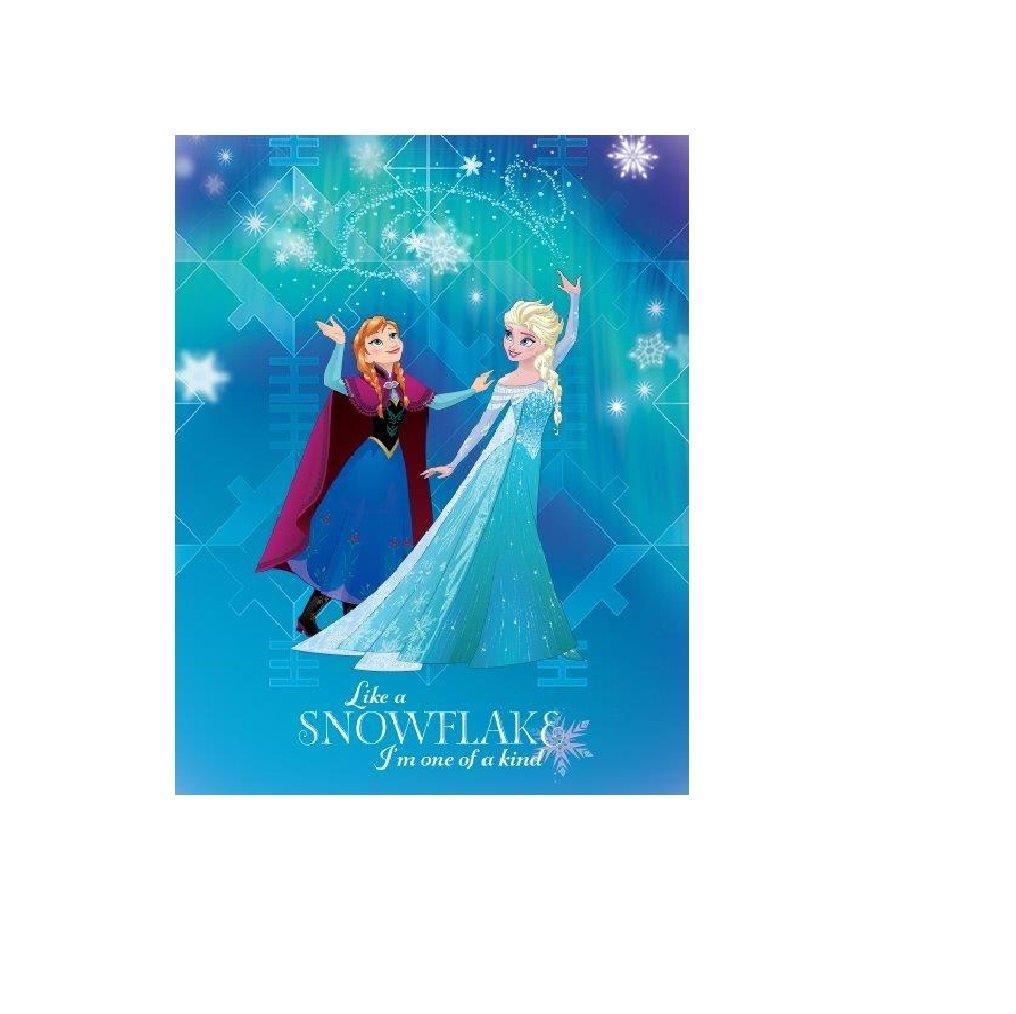Tappeto Cameretta Disney Frozen Fiocco di Neve 80x120 cm TocTocShop