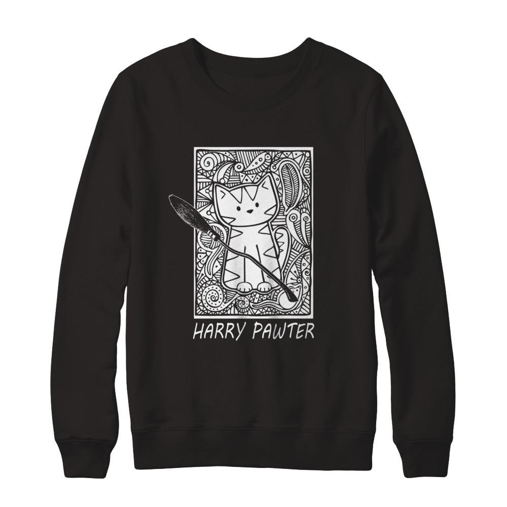 Pullover Sweatshirt Teely Shop Men/'s Teacher Pawter Cat Gildan