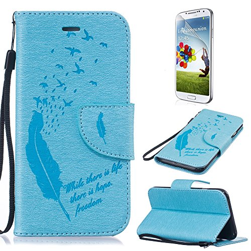 Funda Samsung Galaxy Grand Prime G530 PU Leather Cuero Cubierta Impresión Libro Carcasa - Sunroyal® Wallet Case [Anti-Arañazos] Flip Cover Cierre Magnético Función Soporte,Billetera con Tapa para Tarj B-02