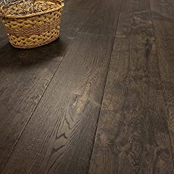 Super Wide Plank 10 1/4 x 5/8 European French Oak (Old Mexico) Prefinished Engineered Wood Flooring Sample at Discount Prices by Hurst Hardwoods