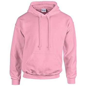 Unbekannt Men s Hooded Long Sleeve Hoodie pink light pink Small 6d9d1503f8