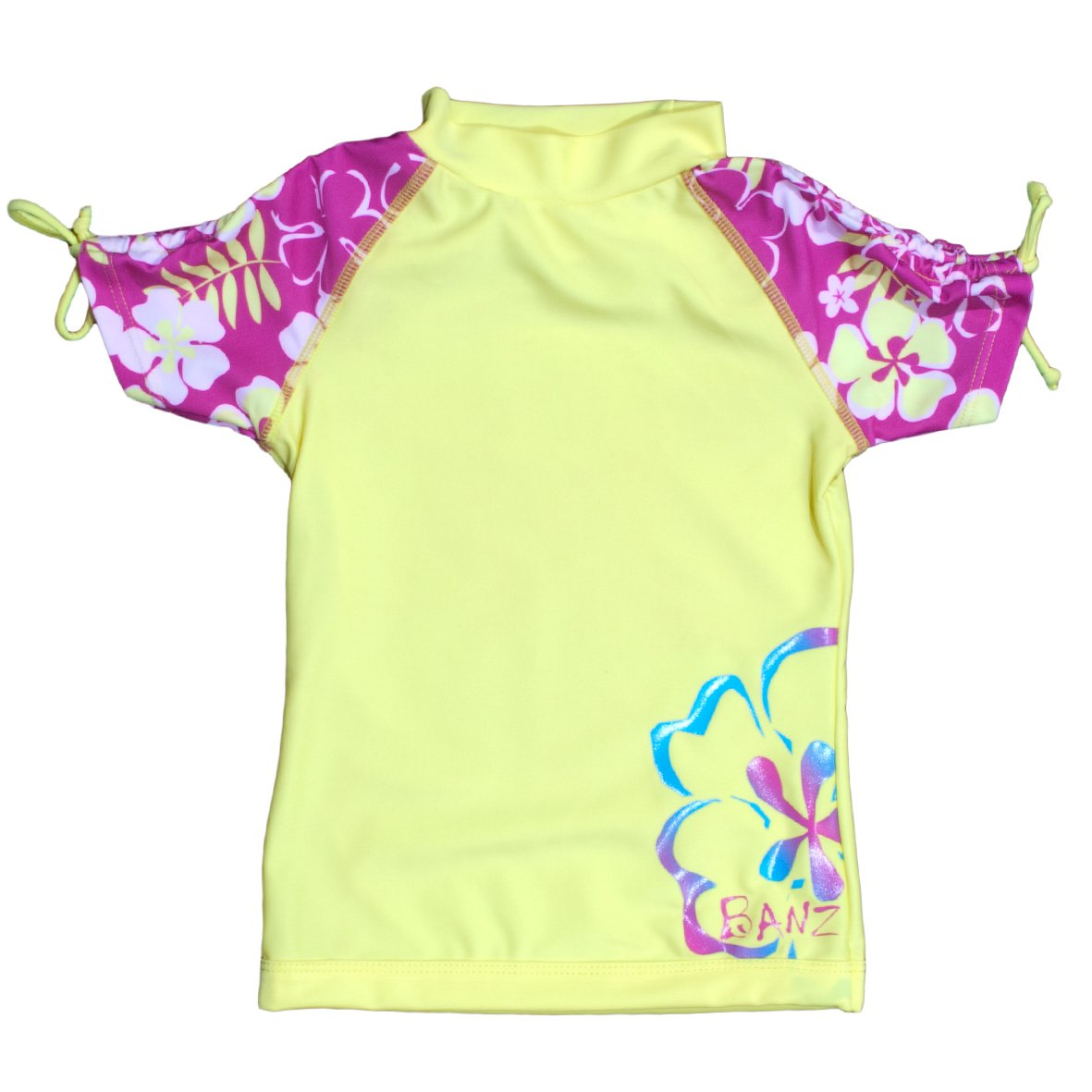 Baby Banz Girls Little Short Sleeve Uv Rash Top S13RS-SY