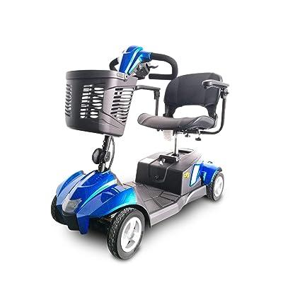 EV Rider - CityCruzer 4 Wheel Scooter (Blue): Health & Personal Care