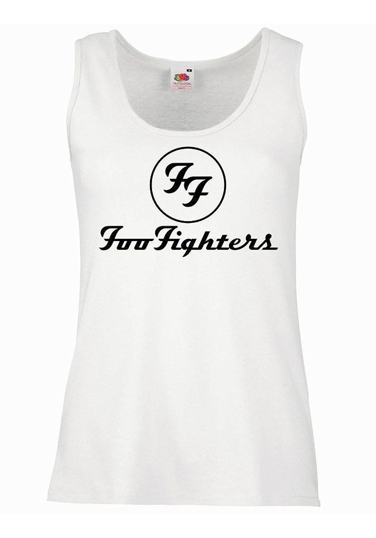 LaMAGLIERIA Tank Top Damen FOO Fighters 100/% Baumwolle