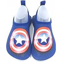 THERESA Toddler Kids Swim Water Shoes Quick Dry Non-Slip Water Skin Barefoot Sports Shoes Aqua Socks for Boys Girls