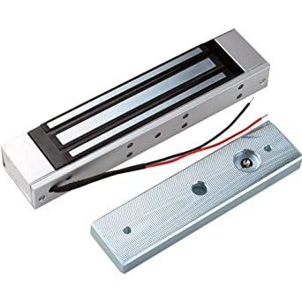 132lbs OBO HANDS 60KG 12V Control de Acceso El/éctrico Cerradura Magn/ética de la Puerta Cerradura El/éctrica