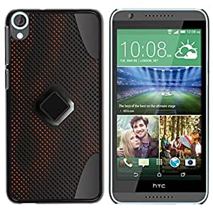 [Neutron-Star] Snap-on Series Teléfono Carcasa Funda Case Caso para HTC Desire 820 [Patrón de ciencia ficción Pc Grey Art]