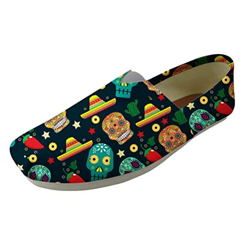 POLERO Alpargatas Zapatillas de Lona Canvas Ultraligeras para Dama sin Cordones 36-41 Talla Europea: Amazon.es: Zapatos y complementos