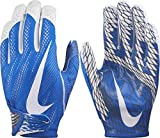 Nike Adult Vapor Knit 2 Receiver Gloves 2017 (Royal/White, Small)