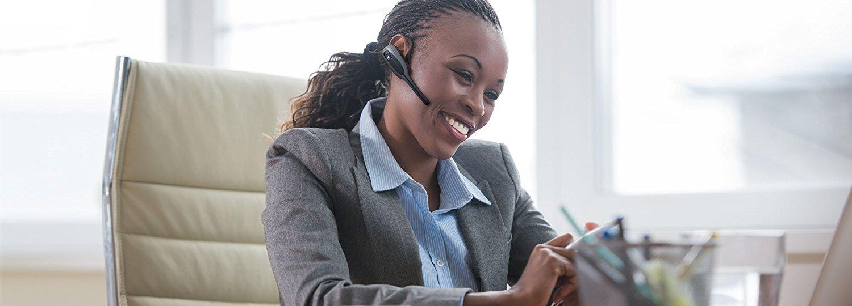 Jabra VXi V175 Wireless Headset for Desk Phones