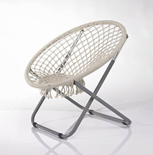 Amazing Handmade Woven Moon Chair Rope Hammock Chairs Fashion Style Rope Chair Max  Weight : 330 Pounds