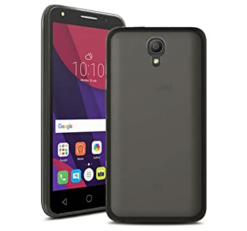 Tumundosmartphone Funda Gel TPU Color Negra para Orange Rise 51 / ALCATEL PIXI 4 (5) 4G / VODAFONE Smart Turbo 7: Amazon.es: Electrónica