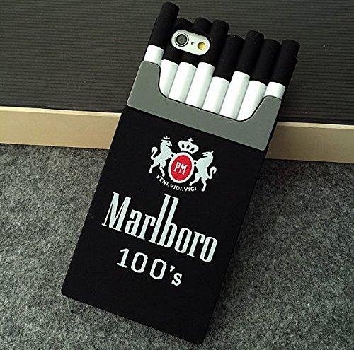 timeless design 0c1ca a1b1e Amazon.com: Cigarette Box Case for iPhone 6/6s Plus Case iPhone 7/8 ...
