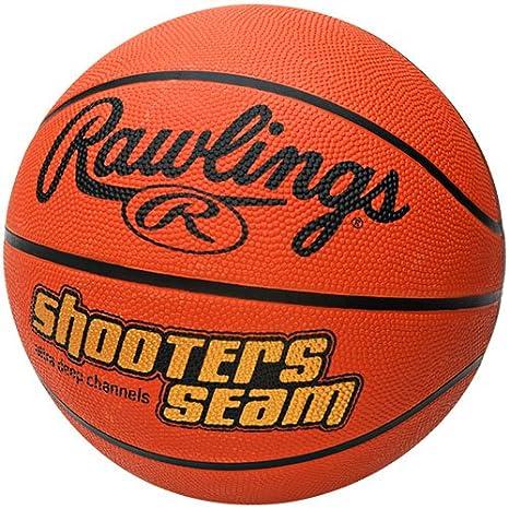 Rawlings Shooters - Balón de Baloncesto con Costuras de Goma ...
