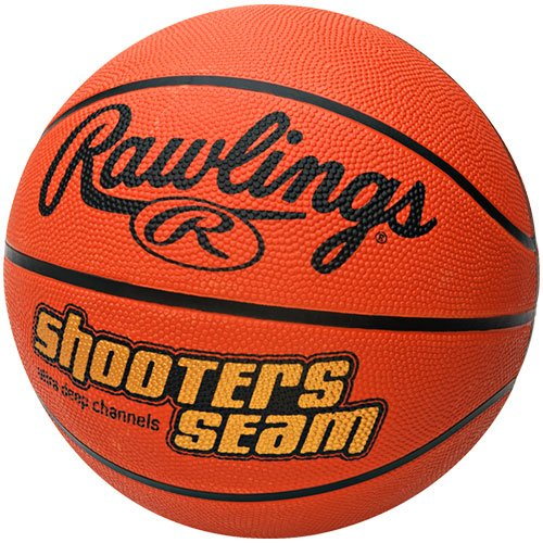 Rawlings Shooters Seam Rubber Official Size Basketball by Rawlings ACESSU1