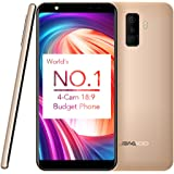 LEAGOO M9 2GB+16GB 5.5 inch LEAGOO OS 3.0 (Android 7.0) MTK6580A Quad Core up to 1.3GHz WCDMA & GSM (Gold)