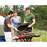 Coleman Propane Grill | RoadTrip LXE Portable Gas Grill 15 Perfect Flow Pressure Control System for steady heat, even in the cold Portable grill sets up in seconds East to transport, folds to compact size with large handle and wheels for easy pulling
