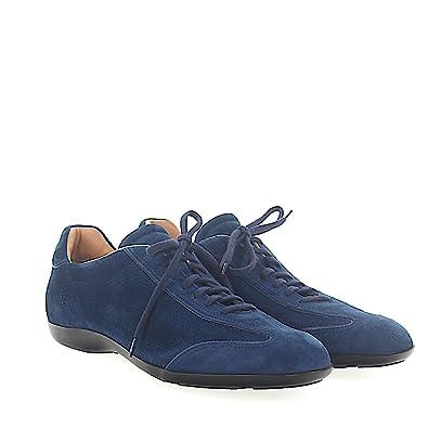 Sneaker 20435 Veloursleder blau Lochmuster Santoni Rabatte Günstiger Preis Billige Angebote Billig Verkauf 2018 Neueste Günstig Kaufen Eastbay Spielraum Manchester YcZ8oLbM2