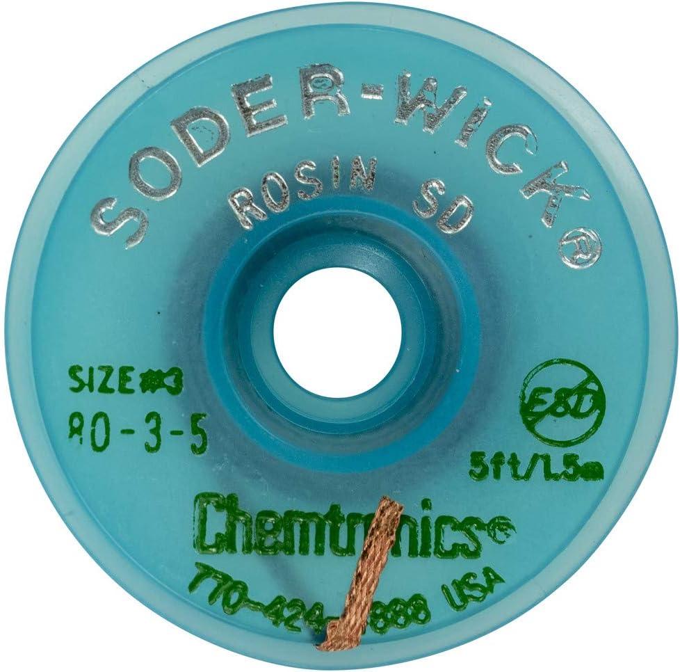 Chemtronics Entl/ötlitze 80-3-5 gr/ün 2,0 mm x 1,5 m