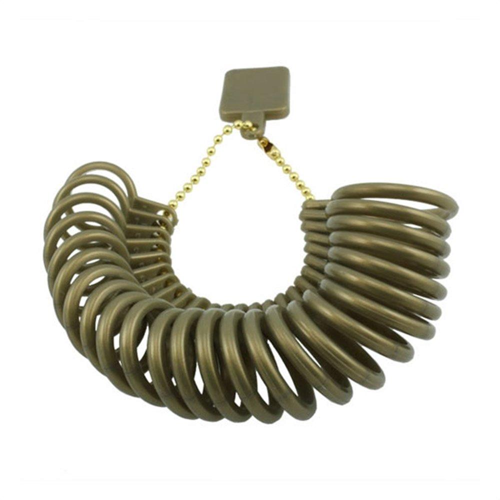 Peacock Ring Finger Sizer Gauge Plastic Women /& Kids//Check Ring Size @ Home 1-17 USA Sizes for Men 2