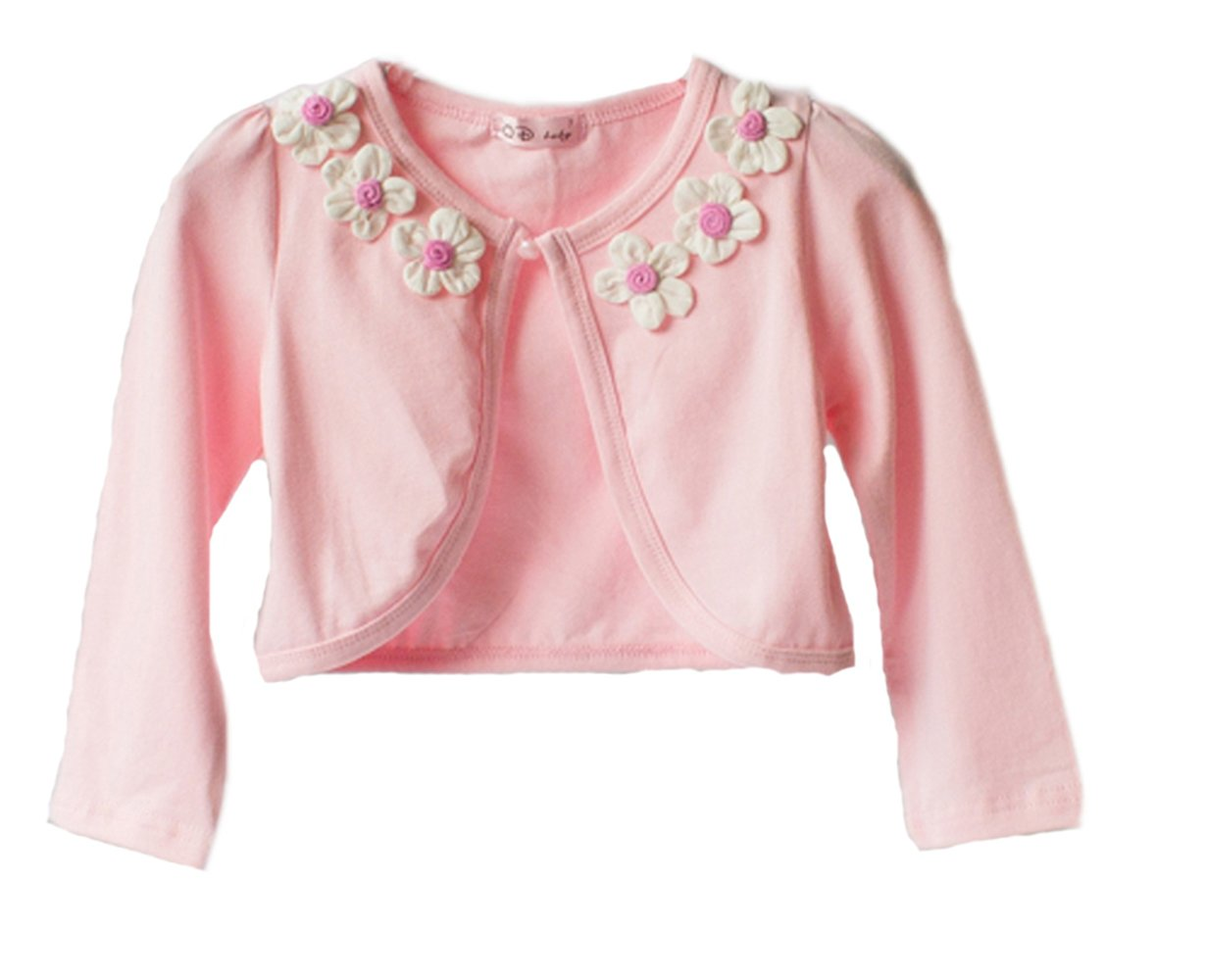 Cinda Clothing Baby Girls' Cotton Bolero
