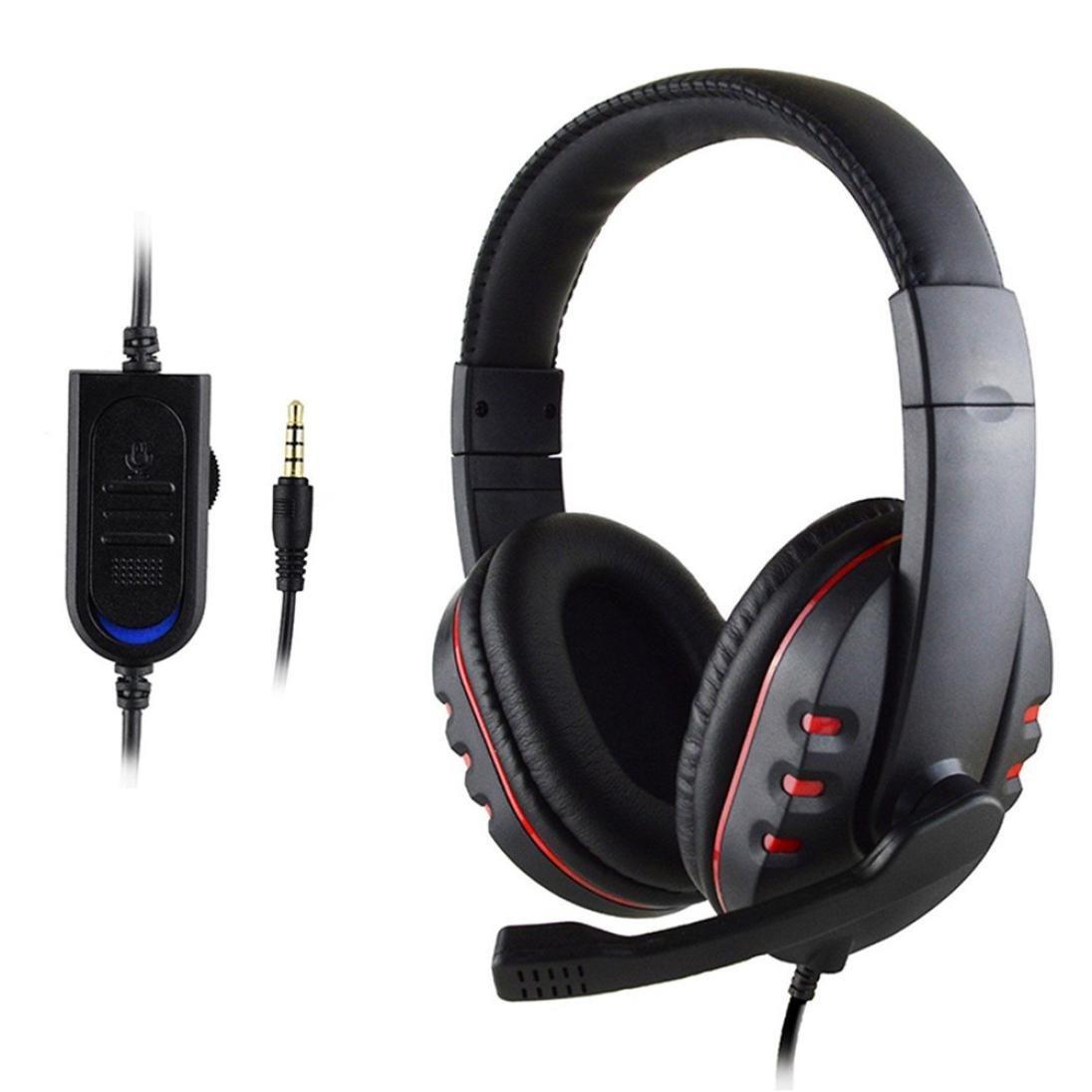 Spielkopfhö rer, HARRYSTORE Gaming Headset Voice Control Verkabelt HI-FI Sound Qualitä t Kopfhö rer fü r PS4 TDRJ-5689