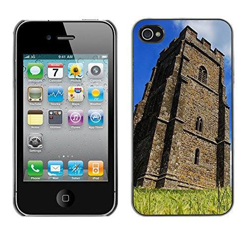 Premio Sottile Slim Cassa Custodia Case Cover Shell // F00026408 ancienne tour // Apple iPhone 4 4S 4G
