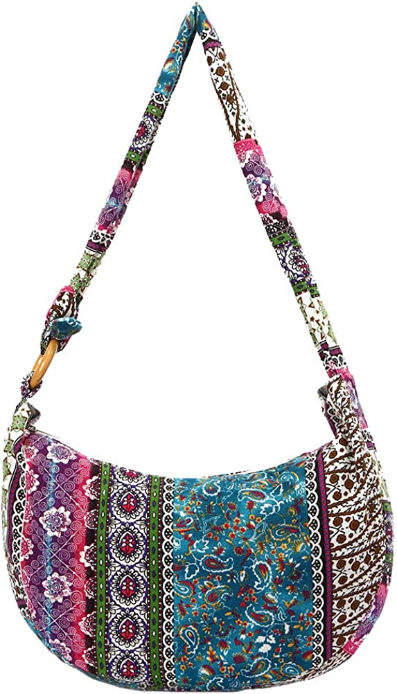 TENDYCOCO Hobo Bags Canvas...