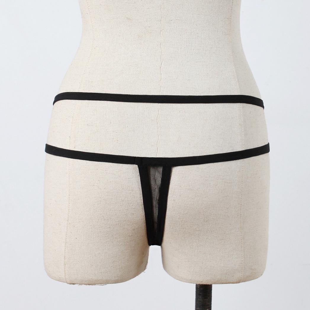 Amazon.com: Anxinke Women Sexy Criss Cross Strap Mesh G-string Briefs  Underwear (XL): Home Improvement