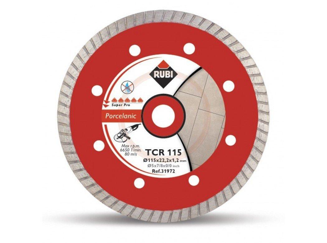 Rubi 31978 Disco Diamante gres porcelá nico Turbo (TCR) 230 mm SuperPro, Gris Germans Boada