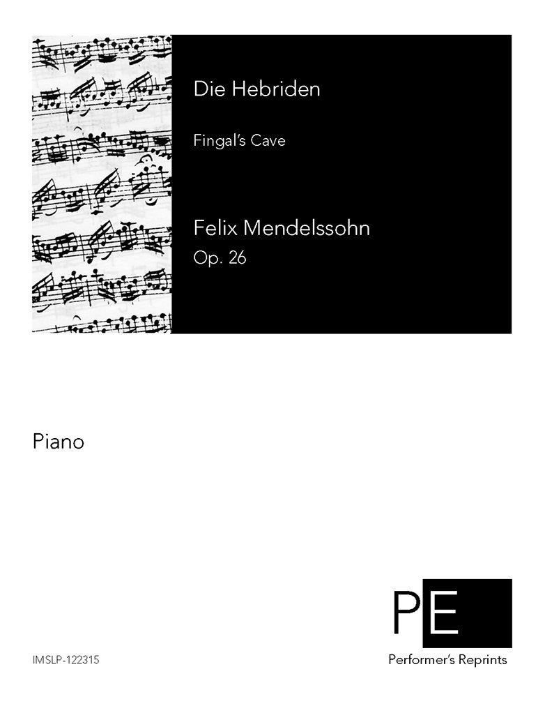 The Hebrides, Op. 26 - For Piano Solo PDF