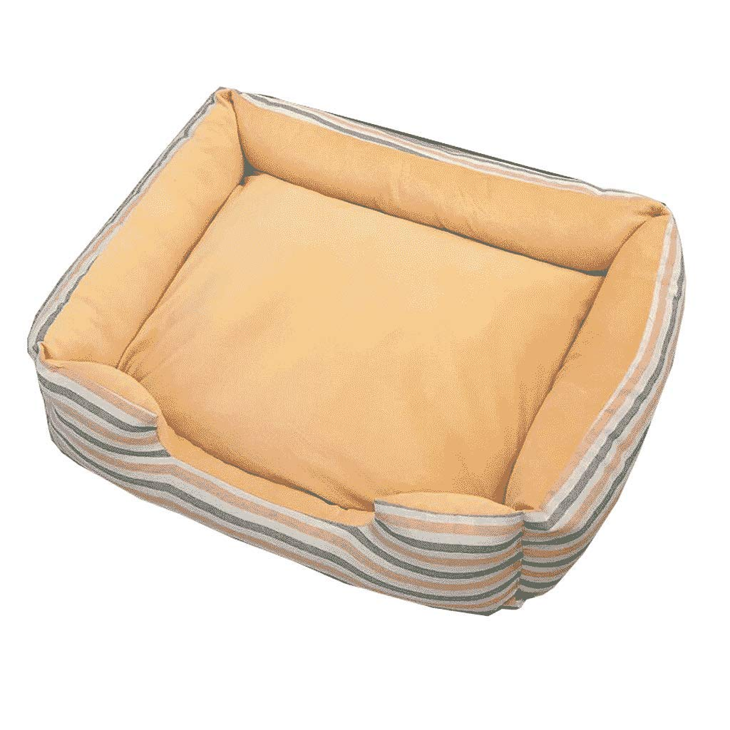 L YAN FEI Kennel Kennel Washable Kennel Four Seasons Small Medium Large Canine Bed Warm In Winter Creative Pet Beds (Size   L)