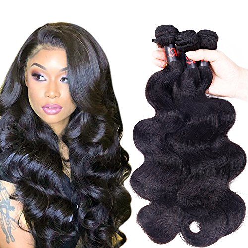 Body Wave Bundles Peruvian Human Hair 3 Bundles 20 22 24 Inch Resaca Peruvian Body Wave Virgin Human Hair Extensions Natural Color (Best Virgin Human Hair Extensions)